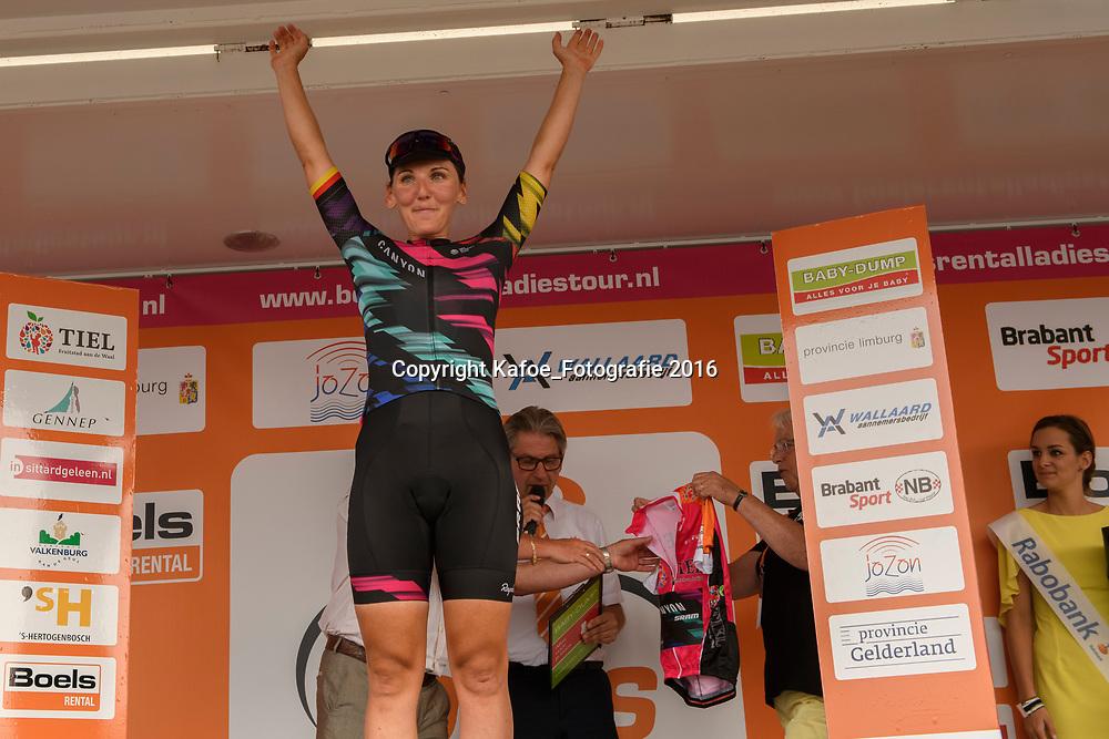 03-09-2016: Wielrennen: Ladies Tour: Tiel<br /> TIEL (NED) wielrennen: Lisa Brennauer wint de 5e etappe in Tiel