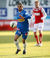 Fotball , 28. oktober 2012 , Adeccoligaen , 1. divisjon , Sandefjord - Bryne <br /> <br /> Kamal Saaliti , Sandefjord