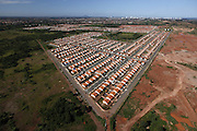 Cuiaba_MT, 04 de marco de 2012.<br /> <br /> PREFEITURA DE CUIABA<br /> <br /> Fotos para relatorio de gestao da prefeitura de Cuiaba. <br /> Imagem aerea de conjuntos habitacionais.<br /> <br /> Foto: LEO DRUMMOND / NITRO
