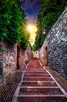"""Twilight ascent to Rocca Maggiore Assisi""… <br />