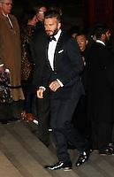 David Beckham, Alexander McQueen: Savage Beauty Fashion Gala, Victoria & Albert Museum, London UK, 12 March 2015, Photo by Richard Goldschmidt