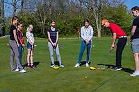 HEEMSKERK - NVG / NGF / Open Golfdagen / Heemskerkse  Golf Club.     kennismaken met golf.  putten,  pro Patrique Baljé.  COPYRIGHT KOEN SUYK