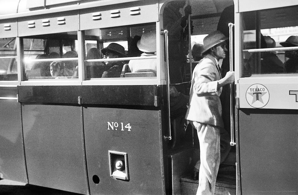 Parking Lot, Train, Nairobi, Kenya, Africa, 1937