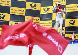 July 22, 2017 - Moskau, Russia - Motorsports: DTM Moskau 2017,....AUTO BILD MOTORSPORT Audi RS 5 DTM #33 (Audi Sport Team Rosberg), René Rast  (Credit Image: © Hoch Zwei via ZUMA Wire)