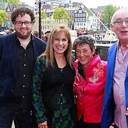 NLD/Amsterdam/20110731 - Premiere circus Hurricane met Hans Klok, Cilly Dartell en Heddy Lester en Hans van der Woude