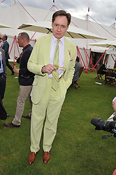 NICK FAULKES at the Cartier Queen's Cup Polo Final, Guards Polo Club, Windsor Great Park, Berkshire, on 17th June 2012.
