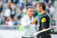 Christophe GALTIER / QUATRIEME ARBITRE - 26.04.2015 - Saint Etienne / Montpellier - 34eme journee de Ligue 1<br />