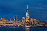 NYC Skyline, Hoboken, NJ.