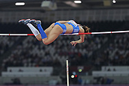 Ekaterina Stefanidi Gold Medal Jump during the IAAF World Championships at the London Stadium, London, England on 6 August 2017. Photo by Myriam Cawston.