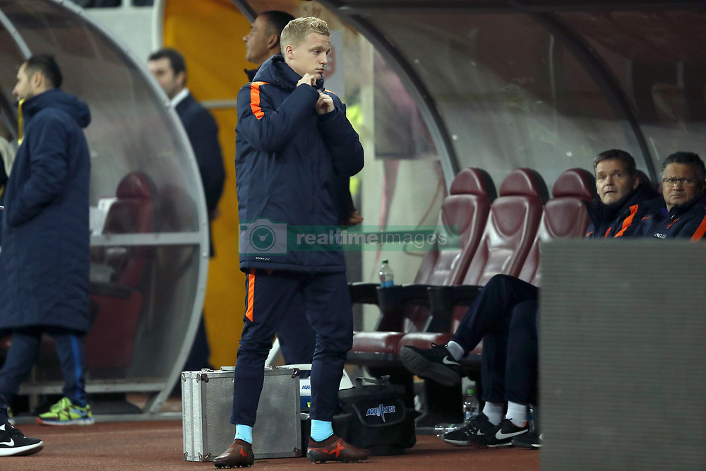 Donny van de Beek of Holland during the friendly match between Romania and The Netherlands on November 14, 2017 at Arena National in Bucharest, Romania
