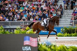 GRAVES Laura (USA), Verdades<br /> Tryon - FEI World Equestrian Games™ 2018<br /> Grand Prix Special Einzelentscheidung<br /> 14. September 2018<br /> © www.sportfotos-lafrentz.de/Stefan Lafrentz