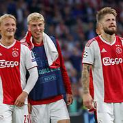 NLD/Amsterdam/20180919 - Ajax - AEK, nr 21 Frenkie de Hong en nr 20 Lasse Schöne