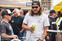 Mondo's Denvers Choppers vintage bike show at the Iron Horse Saloon during the annual Sturgis Black Hills Motorcycle Rally. Sturgis, SD. USA. Saturday August 5, 2017. Photography ©2017 Michael Lichter.