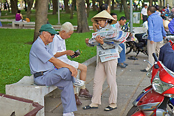 Woman Selling Newspapers