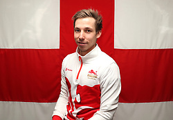 Team England's Jonathan Fox poses for a photo during the kitting out session at Kukri Sports HQ, Preston.