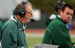 18 October 2014:  Norm Eash during an NCAA division 3 football game between the Augustana Vikings and the Illinois Wesleyan Titans in Tucci Stadium on Wilder Field, Bloomington IL