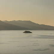 View from the top of Akdamar island.