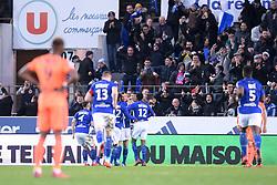 March 9, 2019 - Strasbourg, France - JOIE - EQUIPE DE FOOTBALL DE STRASBOURG (Credit Image: © Panoramic via ZUMA Press)
