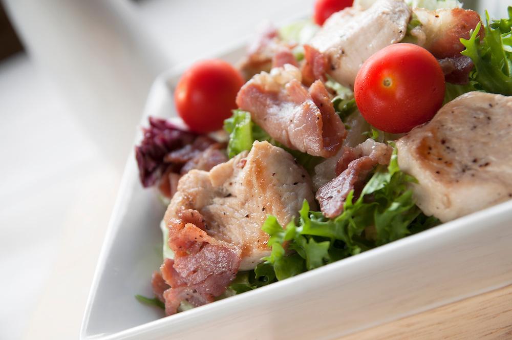 Chicken & Bacon Salad.