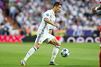 Cristiano Ronaldo of Real Madrid during the match of Champions League between Real Madrid and FC Bayern Munchen at Santiago Bernabeu Stadium  in Madrid, Spain. April 18, 2017. (ALTERPHOTOS)