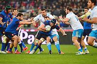 Bernard LE ROUX - 15.03.2015 - Rugby - Italie / France - Tournoi des VI Nations -Rome<br /> Photo : David Winter / Icon Sport