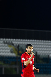 October 5, 2017 - San Marino, SAN MARINO - 171005 Martin Linnes of Norway celebrates 8-0 during the FIFA World Cup Qualifier match between San Marino and Norway on October 5, 2017 in San Marino. .Photo: Fredrik Varfjell / BILDBYRN / kod FV / 150027 (Credit Image: © Fredrik Varfjell/Bildbyran via ZUMA Wire)