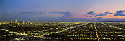Los Angeles Skyline, Panoramic, California (LA)