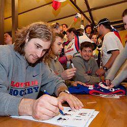 20110501: SVK, Ice Hockey - IIHF 2011 World Championship Slovakia,Slovenian fans at Slovenian house