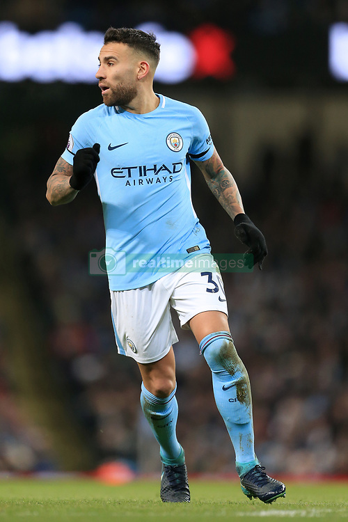 3rd December 2017 - Premier League - Manchester City v West Ham United - Nicolas Otamendi of Man City - Photo: Simon Stacpoole / Offside.