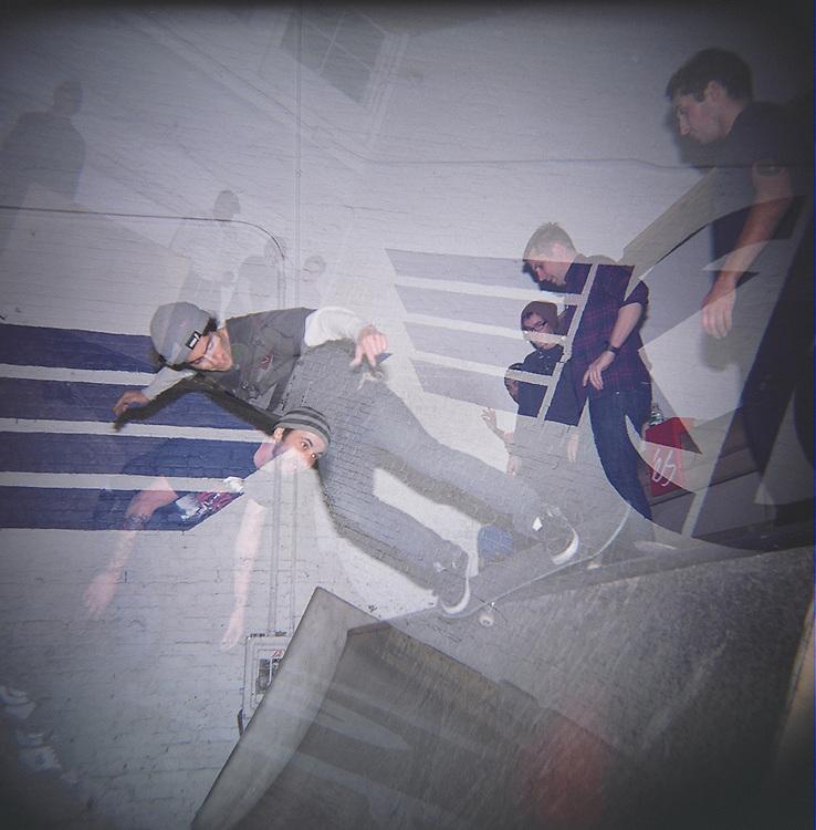 Skateboarders, Williamsburg, Brooklyn, 2007
