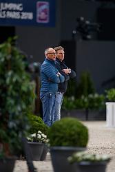 Van der schaft Rien, Witte Nico, NED<br /> LONGINES FEI World Cup™ Finals Paris 2018<br /> © Dirk Caremans<br /> 12/04/2018