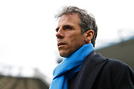 Birmingham City manager Gianfranco Zola during the EFL Sky Bet Championship match between Birmingham City and Burton Albion at St Andrews, Birmingham, England on 17 April 2017. Photo by Richard Holmes.