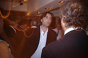 Philip Knatchbull. Dinner at San Lorenzo, Beauchamp Place after Tod's hosts Book signing with Dante Ferretti celebrating the launch of 'Ferretti,- The art of production design' by Dante Ferretti. 19 April 2005.  ONE TIME USE ONLY - DO NOT ARCHIVE  © Copyright Photograph by Dafydd Jones 66 Stockwell Park Rd. London SW9 0DA Tel 020 7733 0108 www.dafjones.com