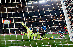 Goalkeeper of Uruguay Fernando Muslera during the 2010 FIFA World Cup South Africa Quarter Finals football match between Uruguay and Ghana on July 02, 2010 at Soccer City Stadium in Sowetto, suburb of Johannesburg. (Photo by Vid Ponikvar / Sportida)