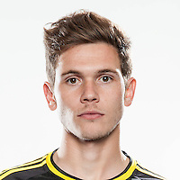 Feb 25, 2016; USA; Columbus Crew player Wil Trapp poses for a photo. Mandatory Credit: USA TODAY Sports