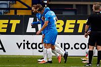 Jordan Keane. Stockport County FC 2-0 Wrexham FC. Vanarama National League. 28.12.20