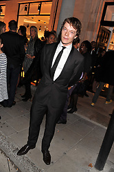 ALFIE ALLEN at the launch of the Spencer Hart Flagship store, Brook Steet, London on 13th September 2011.