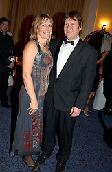 JOHN & MOLLY BEDINGFIELD parents of singers Daniel & Natasha Bedingfield at 'A Rout' an evening of late evening party, essentially of revellers in aid of the Great Ormond Street Hospital Children's Charity and held at Claridge's, Brook Street, London W1 on 25th January 2005.<br /><br />NON EXCLUSIVE - WORLD RIGHTS