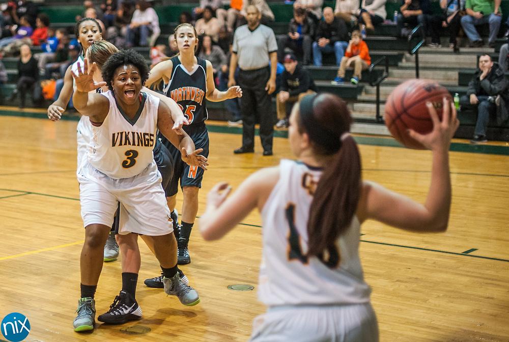 Central Cabarrus against Northwest Cabarrus Friday night at Central Cabarrus High School. Central won the game 53-48.