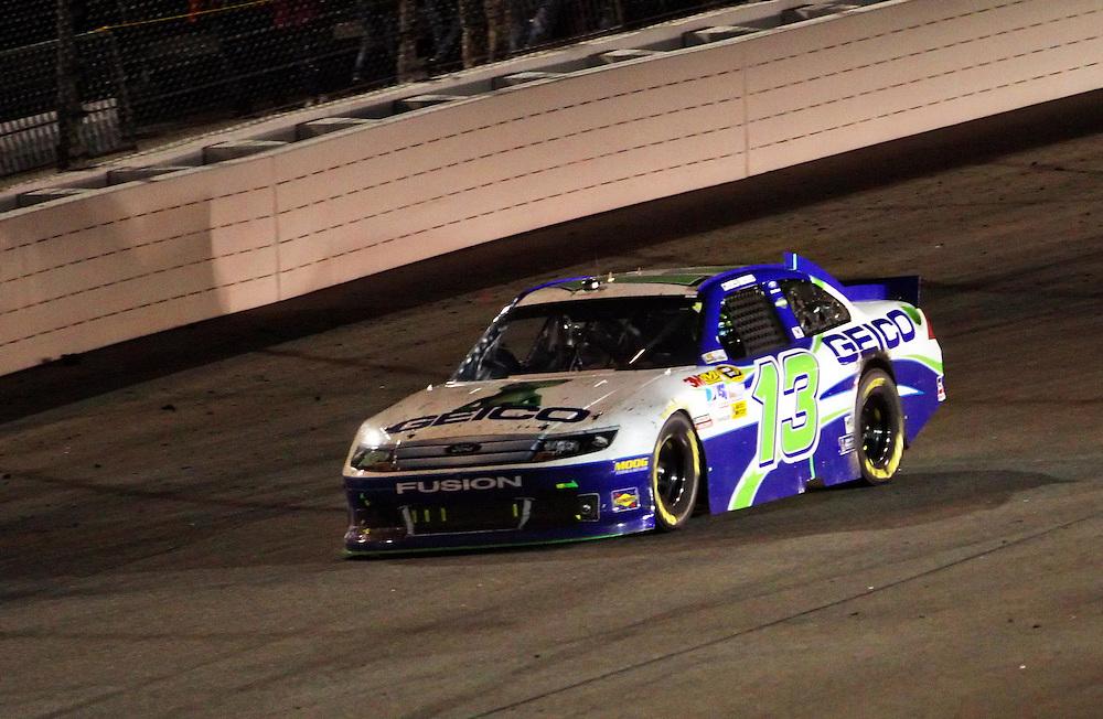 Apr 28, 2012; Richmond, VA, USA; NASCAR Sprint Cup driver Casey Mears (13) during the Capital City 400 at Richmond International Raceway. Mandatory Credit: Peter Casey-US PRESSWIRE.