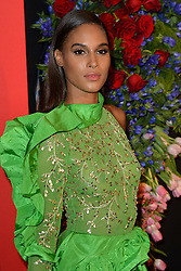 September 12, 2019, New York, NY, USA: September 12, 2019  New York City..Cindy Bruna attending the 5th annual Diamond Ball benefit gala at Cipriani Wall Street on September 12, 2019 in New York City. (Credit Image: © Kristin Callahan/Ace Pictures via ZUMA Press)