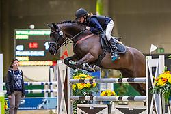 Franken Evelyne, BEL, Imagine<br /> Nationaal Indoor Kampioenschap Pony's LRV <br /> Oud Heverlee 2019<br /> © Hippo Foto - Dirk Caremans<br /> 09/03/2019