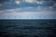 North Hoyle Offshore Wind Farm is Wales' first offshore wind farm, and the UK's first major offshore renewable power project. Situated in Liverpool Bay, it commenced operation in 2003.