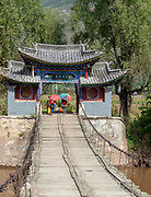Traditional Bridge in Shigu, Yunlong, Yunnan, China