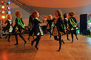 Photo of a group of Irish Dancers at the Dublin Irish Festival in Dublin, Ohio.
