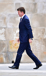 © Licensed to London News Pictures. 10/06/2016. London, UK. US Ambassador Mathew Barzun, arrives at St Paul's Cathedral for a service of thanksgiving to mark the 90th birthday of Queen Elizabeth II. Photo credit: Ben Cawthra/LNP