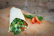Burger, Wraps und Co. Fast Food vom<br /> Feinsten und<br /> bei grün+gut<br /> obendrein<br /> voll vegan.
