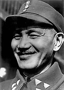 Chiang Kai-shek (1887-1975) Chinese political and military leader at the time he became head of the Koumintang in 1925. President of the Republic of China (anti-Communist) in Taiwan from 1949