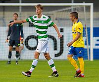 30/06/16 PRE-SEASON FRIENDLY<br /> NK CELJE v CELTIC<br /> ARENA PETROL STADIUM - SLOVENIA<br /> Kristoffer Ajer makes his debut for Celtic