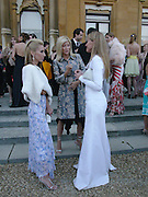 Alexandra von Furstenburg, Princess Marie-Chantal of Greece and India Hicks, Louis Vuitton classic and celebration of their 150 anniversary. Waddesdon Manor, June 4 2004. ONE TIME USE ONLY - DO NOT ARCHIVE  © Copyright Photograph by Dafydd Jones 66 Stockwell Park Rd. London SW9 0DA Tel 020 7733 0108 www.dafjones.com
